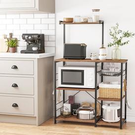 image-Dimas Kitchen Island with Manufactured Wood Top