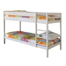image-Carmona 90 x 190cm Bunk Bed Isabelle & Max Bed frame colour: White