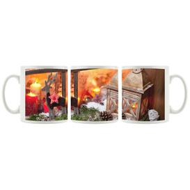 image-Christmas Windowsill Coffee Mug East Urban Home