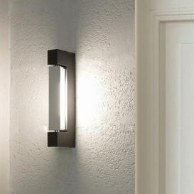 image-Ara Wall Minor 2-Light LED Flush Mount Nemo Finish: Anthracite/Polished
