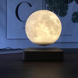 image-Mcdaniels Levitating Moon Lamp Night Light