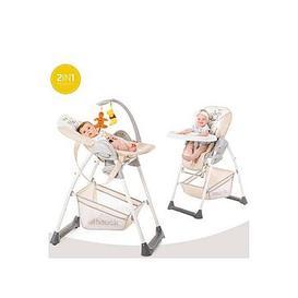 image-Winnie The Pooh Disney Sit N Relax Highchair - Pooh Cuddles