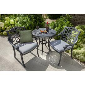 image-Capri 2 Seater Bistro Set with Cushions