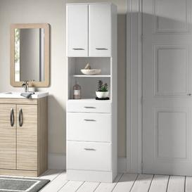 image-Tysen 50 x 190cm Tall Bathroom Cabinet Brayden Studio