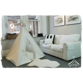 image-Classic Cream Teepee with Play Mat