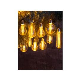 image-Extendable Vintage Style Bulb String Lights