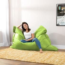 image-Giant Floor Bean Bag Lounger Mack + Milo Upholstery Colour: Lime Green