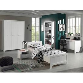 image-Eddy 5 Piece European Single Bedroom Set Isabelle & Max