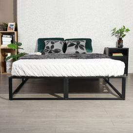 image-Bergamo Folding Bed Frame Ebern Designs