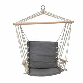 image-Vassar Hanging Chair Freeport Park Colour: Grey