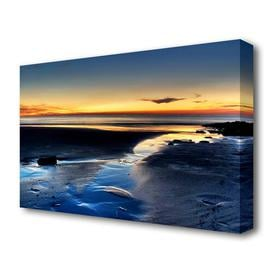 image-'The Light On The Ocean Landscape' Photographic Print on Canvas East Urban Home Size: 66 cm H x 101.6 cm W