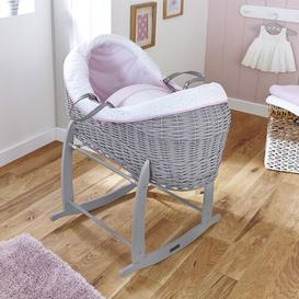 image-Moses Basket with Bedding Clair De Lune