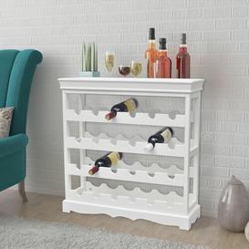 image-Kaukauna 24 Bottle Wine Rack Brambly Cottage