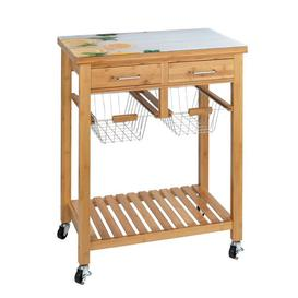 image-Moby Serving Cart August Grove