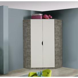 image-Eckschrank Alvara Rauch Colour: Alpine white / Stone grey