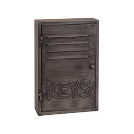 image-Grey Metal Industrial Key Box