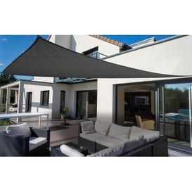 image-Myrtle Beach 4.6m x 4.6m Triangle Shade Sail Sol 72 Outdoor Colour: Anthracite