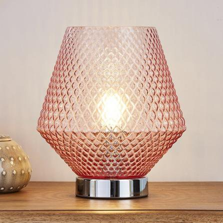 image-Miah Blush Touch Dimmable Table Lamp Blush