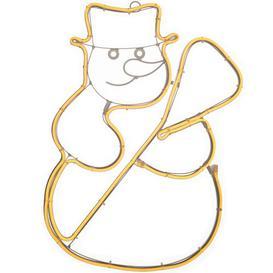 image-360 Warm White Christmas Snowman Neon Rope Light Mail Order Online Ltd