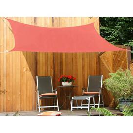 image-Nobleboro 3m x 2.5m Rectangular Shade Sail Sol 72 Outdoor Colour: Orange