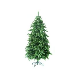 image-Noma Hawkshead Fir Christmas Tree with 100% PVC tips and metal stand - 6ft, 7ft [7ft]