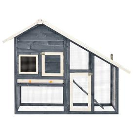 image-Cueto Weather Resistant Rabbit Hutch with Ramp