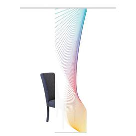 image-Ramsey Room Darkening Panel Curtains Ebern Designs Colour: Red/Blue/Yellow