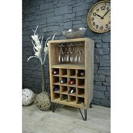 image-Sandtoft 16 Bottle Wine Rack Borough Wharf