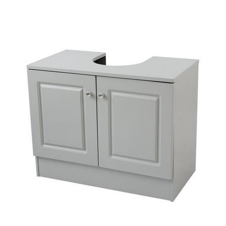 image-Verona Grey Bathroom Vanity Unit Grey