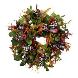 image-MacKenzie-Childs - Radish and Root Wreath