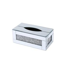 image-Fuselier Tissue Box Cover Fairmont Park Finish: Clear