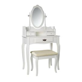 image-Deluxe Dresser and Stool