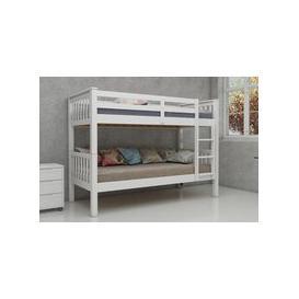 image-Vida Living Magnus White Bunk Bed