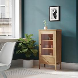 image-Display Cabinet Gracie Oaks