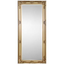 image-Julian Bowen Palais Gold Rectangular Dress Mirror - 70cm x 170cm