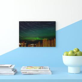 image-Aurora Borealis the Northern Lights Landscape Photographic Print on Canvas Big Box Art