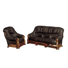 image-Dodsworth 2 Piece Sofa Set Astoria Grand Colour: Chocolate