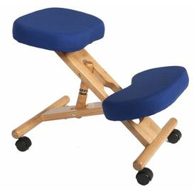 image-Kneeling Chair Zipcode Design Colour: Blue