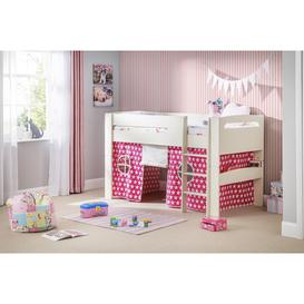 image-Hudson Midsleeper with Pink & White Stars Tent