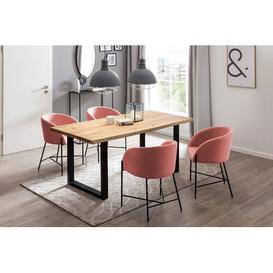 image-Seraphine Dining Table Union Rustic Size: H75 x L120 x W80cm