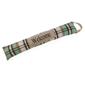image-Gearldine Extened Fabric Draught Excluder (Set of 2) August Grove Finish: Green/Beige