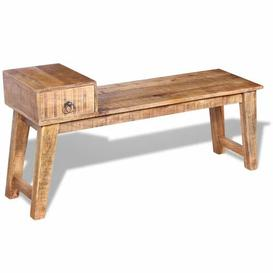 image-Colt Wood Storage Bench Union Rustic