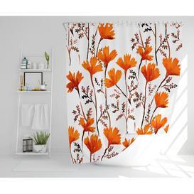 image-Vannesa Polyester Shower Curtain Set Rosalind Wheeler