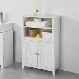 image-Jersey 60cm x 90cm Free-Standing Bathroom Cabinet Brambly Cottage