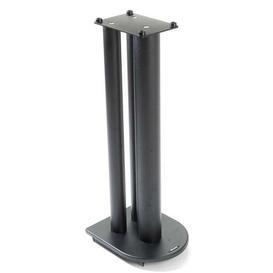 image-70cm Fixed Height Speaker Stand Symple Stuff Finish: Satin Black
