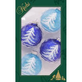image-Light and Dark Christmas Baubles