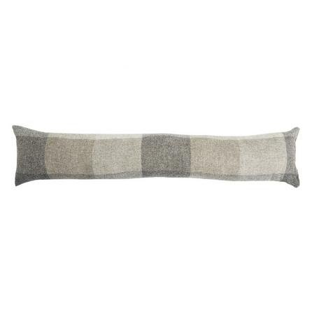 image-Heritage Check Grey Draught Excluder Grey