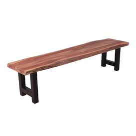 image-Gagne Wood Bench Williston Forge