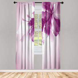 image-Kaliyah Hazy Flower Room Darkening Curtains