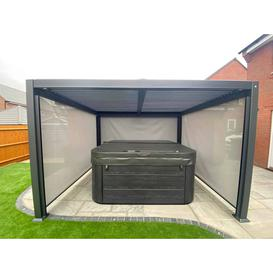 image-Maranza Vented Roof Gazebo - Side Cassette Only